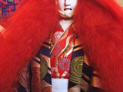Doll in Renjishi costume
