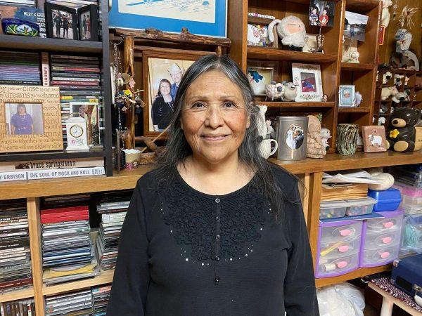Barbara Teller Ornelas in her studio